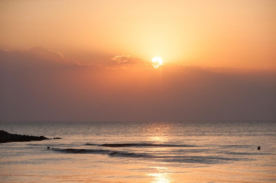 beautiful-sunset-Chalkidiki-tropical-bohemian-wedding